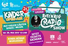 Rotz'n'Roll Radio Show – Eine Eintrittskarte für bedürftige Kinder
